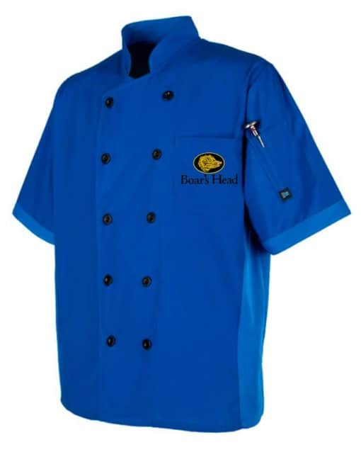 Golden Stitches Embroidery - CookCool® Panel Chef Coat