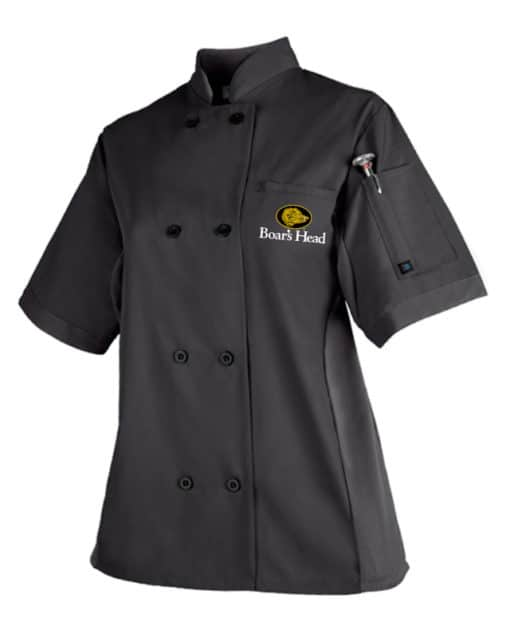 Golden Stitches Embroidery - Women's Panel Chef Coat