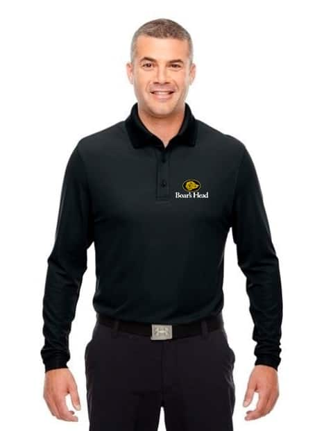 b841f900 Under Armour Men's Performance Long Sleeve Polo | Golden Stiches ...
